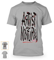 Artist By Nature - limited edition t-shirts.