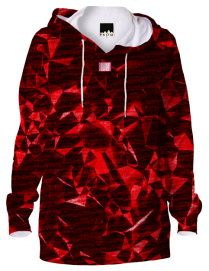Hellyuva Red Diamonds Hoodie