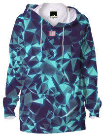 Royal Blue X Diamonds Hoodie